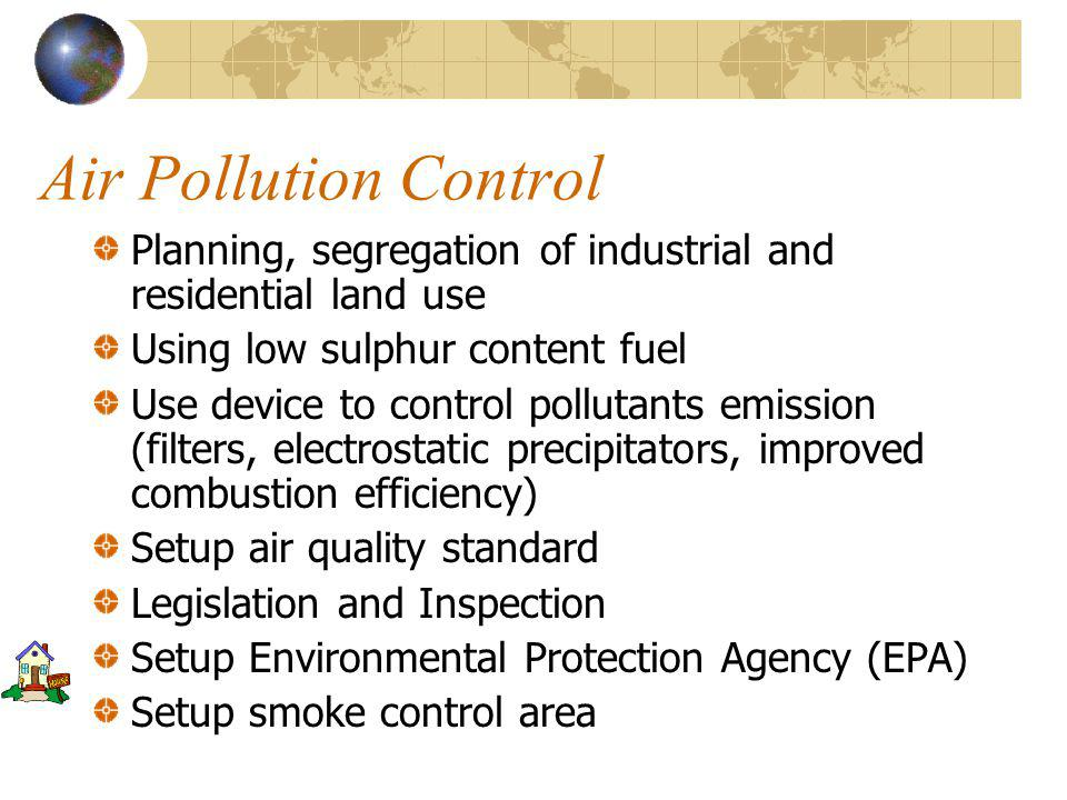 Air Pollution Acid Rain (Acid Precipitation)