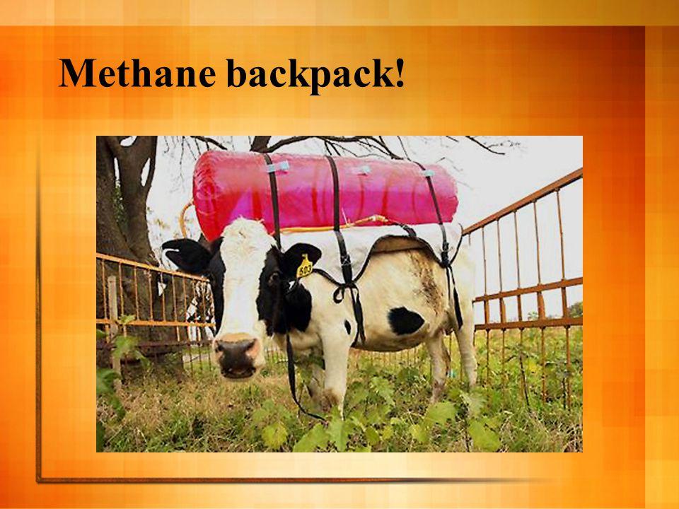 Methane backpack!