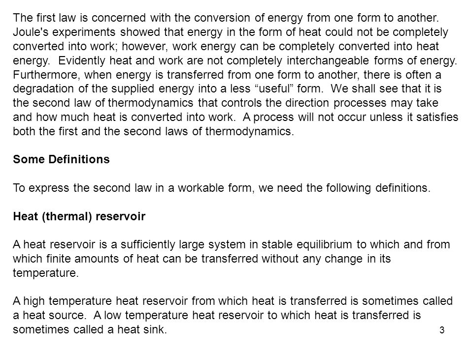 24 These statements form the basis for establishing an absolute temperature scale, also called the Kelvin scale, related to the heat transfers between a reversible device and the high- and low-temperature heat reservoirs by Then the Q H /Q L ratio can be replaced by T H /T L for reversible devices, where T H and T L are the absolute temperatures of the high- and low-temperature heat reservoirs, respectively.