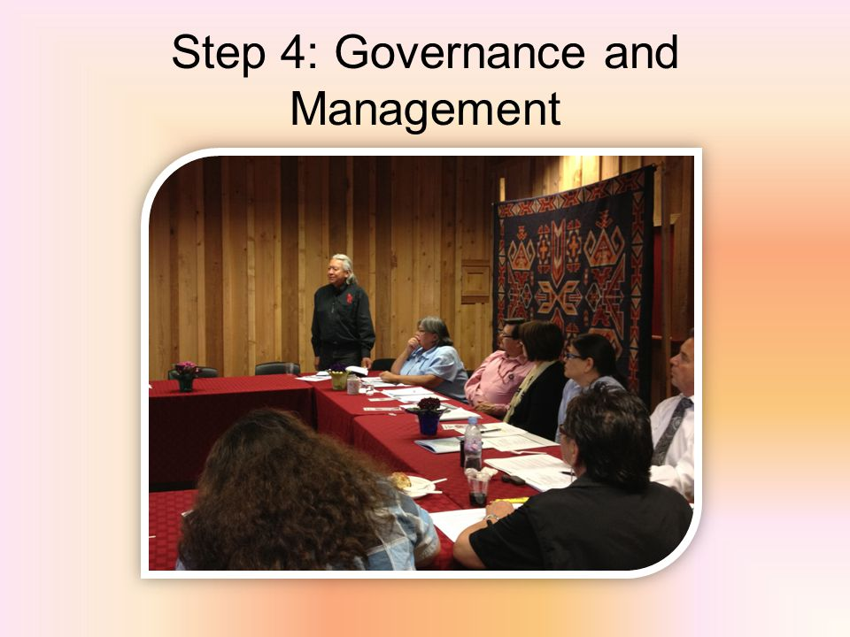 Step 4: Governance and Management