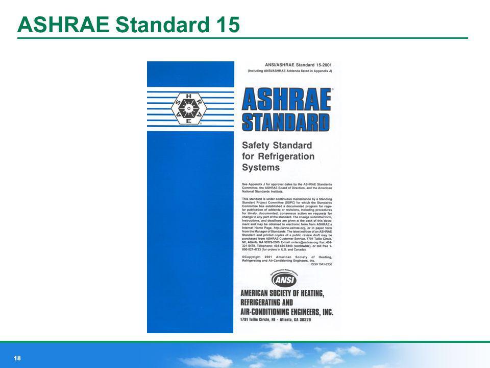 18 ASHRAE Standard 15