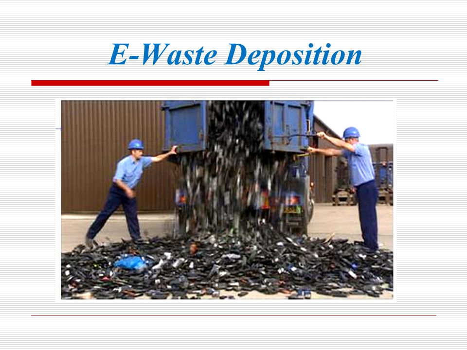 Composition of E-Waste