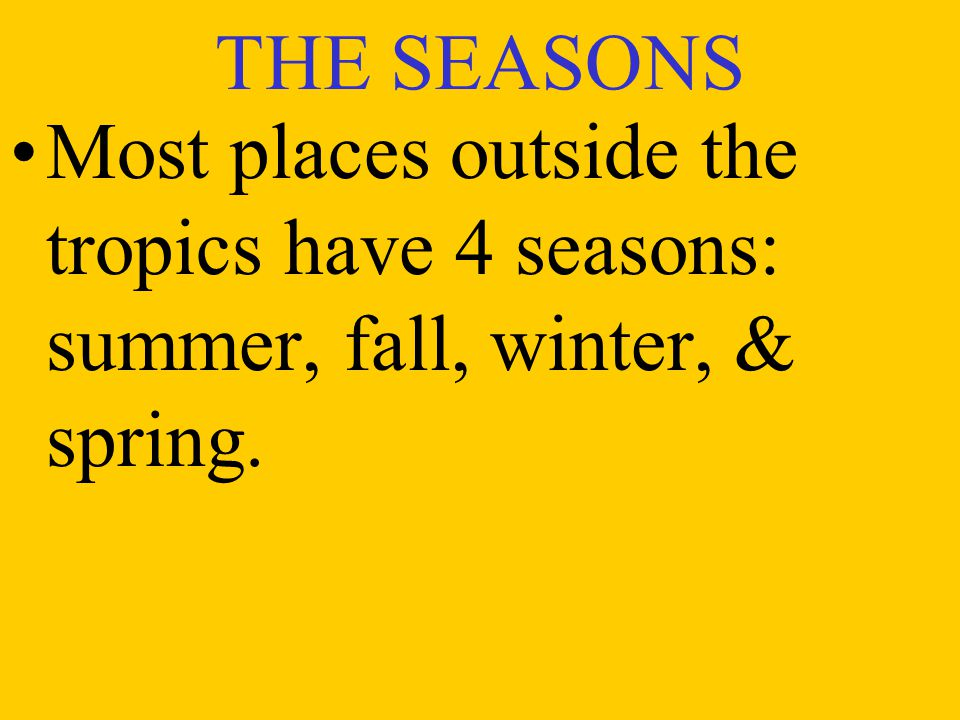 3. SEASONAL WINDS Monsoon- a major landbreeze or seabreeze that changes direction with the seasons.