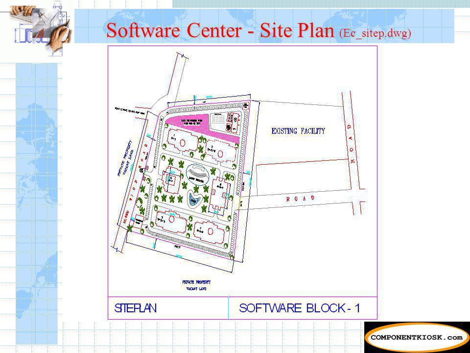 Software Center - Site Plan Software Center - Site Plan (Ec_sitep.dwg)
