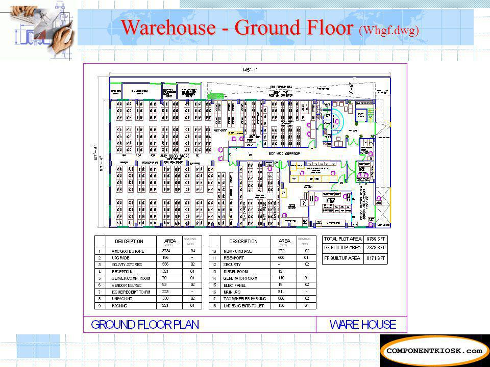Warehouse - Ground Floor Warehouse - Ground Floor (Whgf.dwg)
