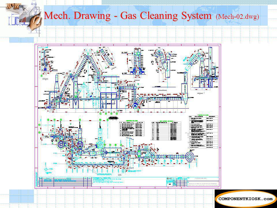 Mech. Drawing - Gas Cleaning System Mech. Drawing - Gas Cleaning System (Mech-02.dwg)