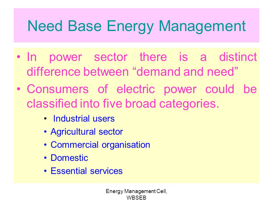 Energy Management Cell, WBSEB Network Planning Through GIS (Geographical Information System) oComputer-aided network planning to minimise losses and m