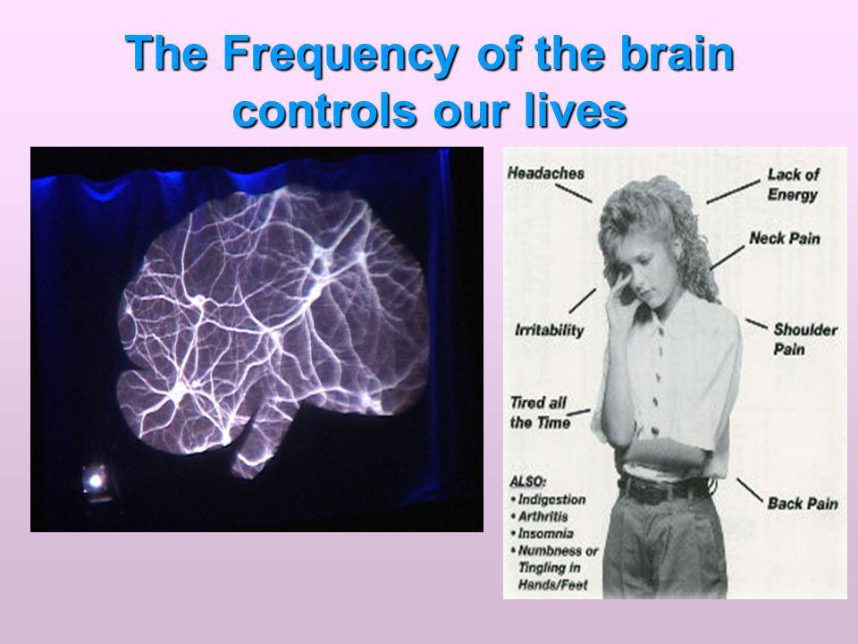 The Frequency of the brain controls our lives
