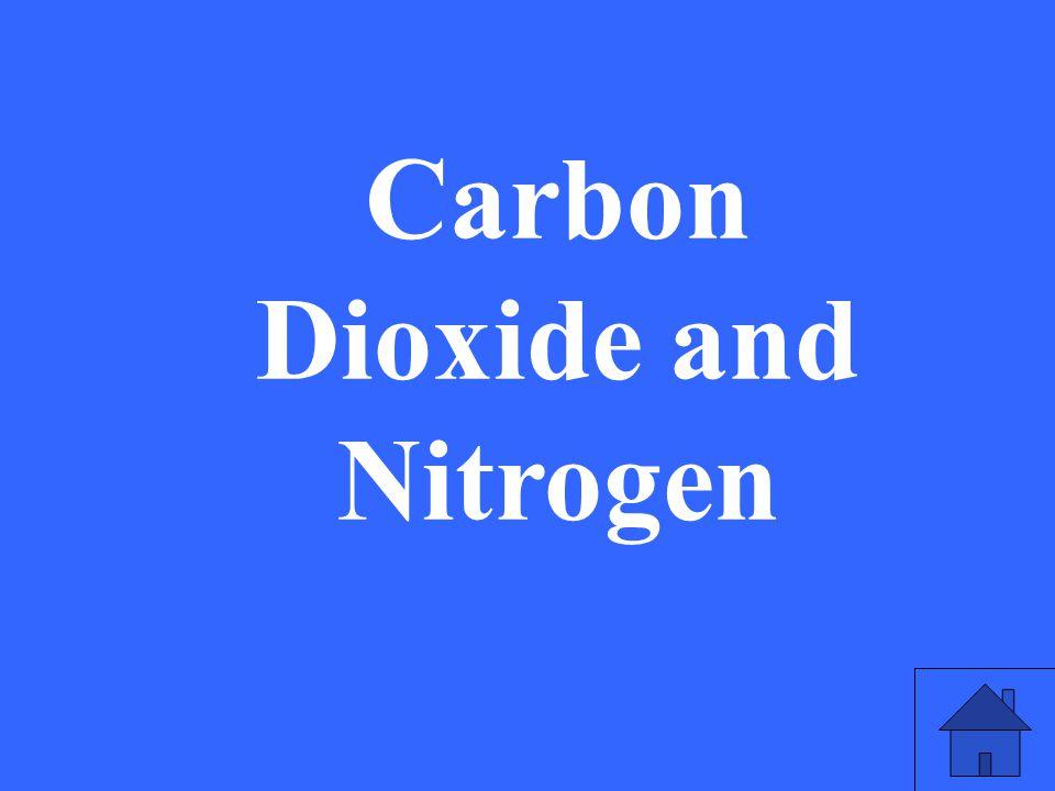 Carbon Dioxide and Nitrogen