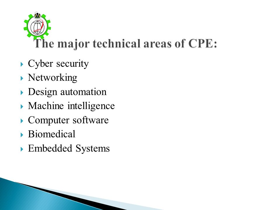 Cyber security Networking Design automation Machine intelligence Computer software Biomedical Embedded Systems