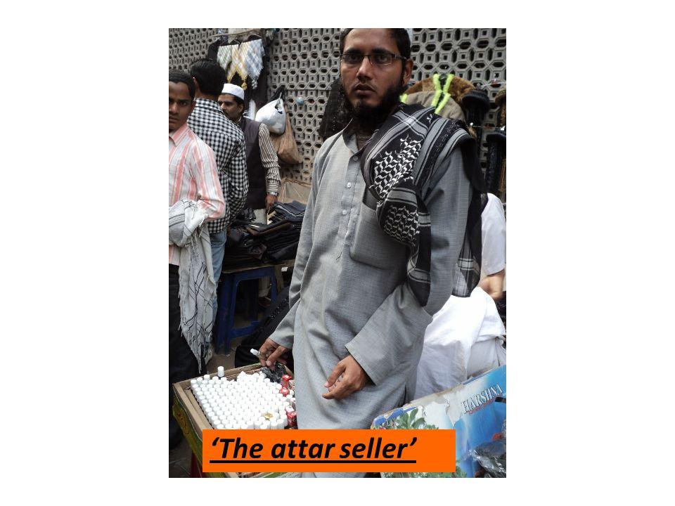 The attar seller