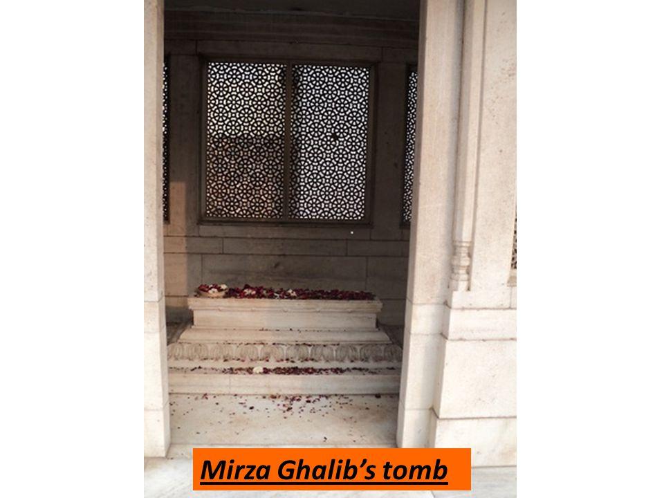 Mirza Ghalibs tomb