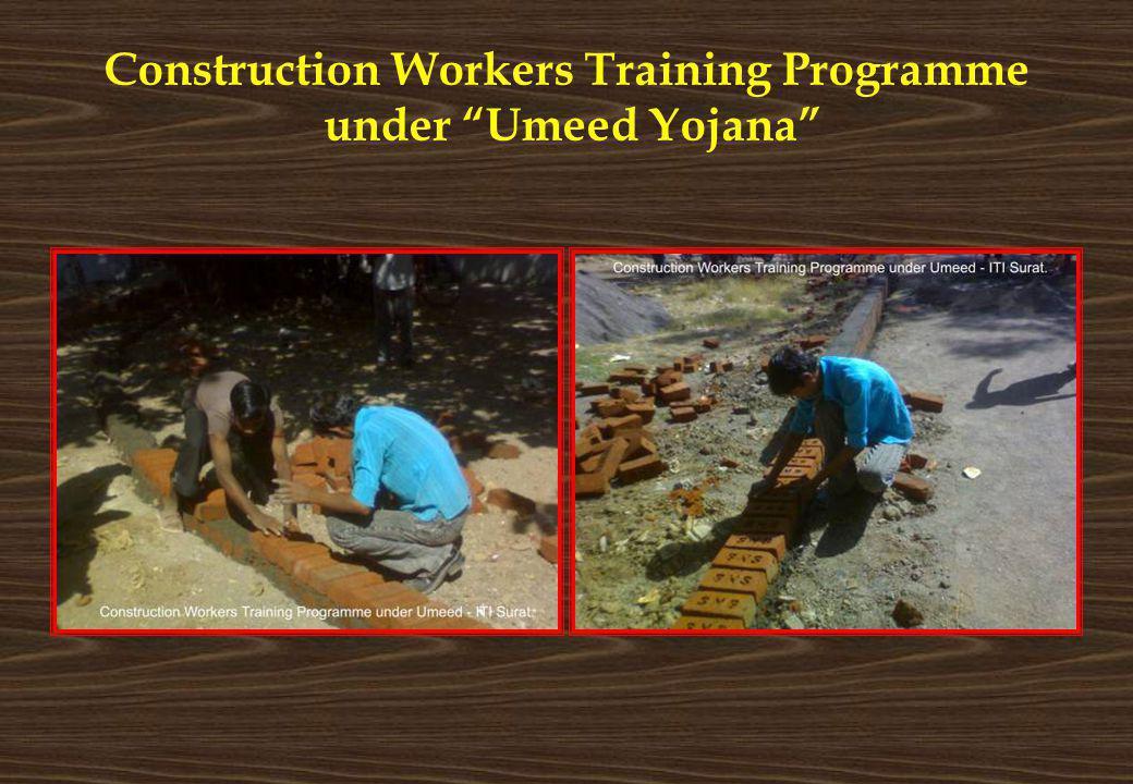 Construction Workers Training Programme under Umeed Yojana