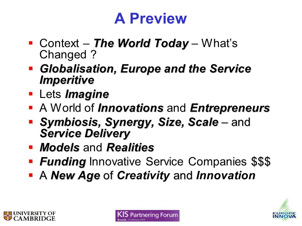 A Preview The World Today Context – The World Today – Whats Changed .