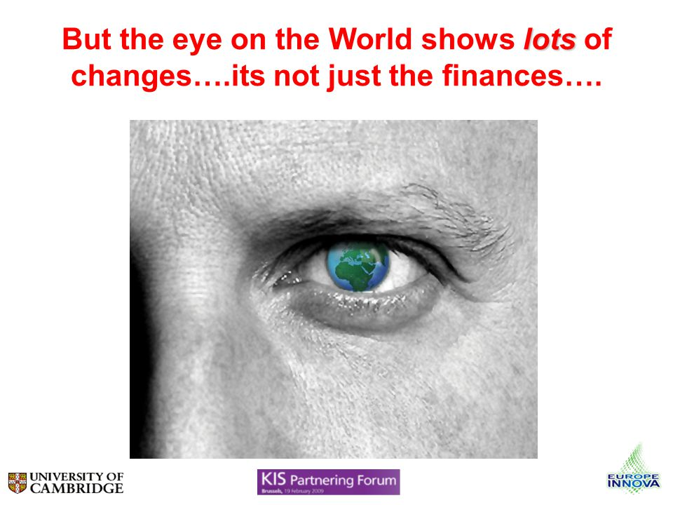 lots But the eye on the World shows lots of changes….its not just the finances….