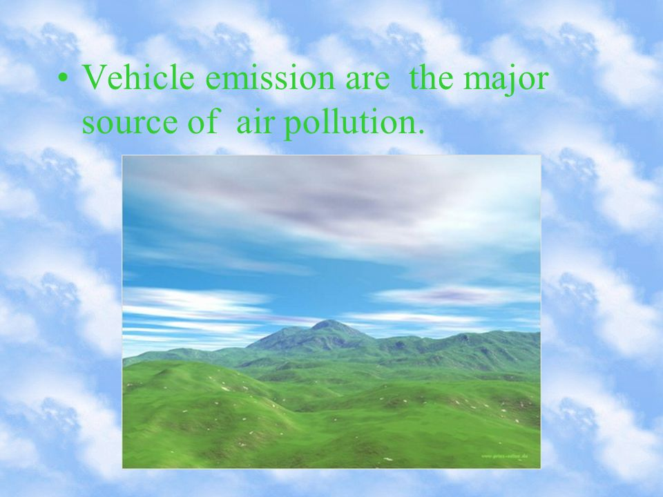 The most stringent vehicle fuel and emission standards.