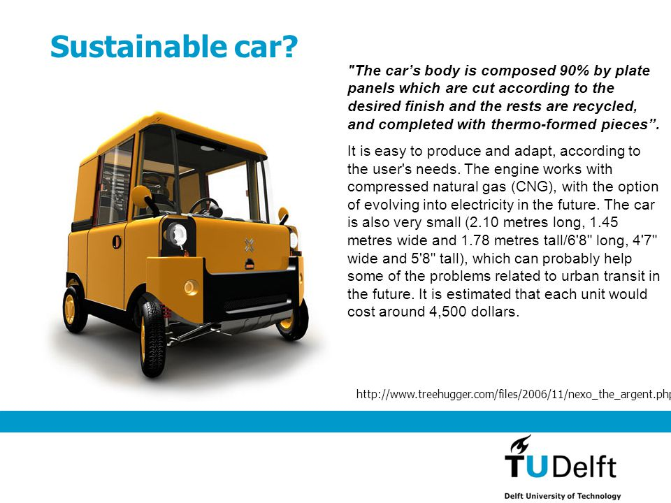 Sustainable car?