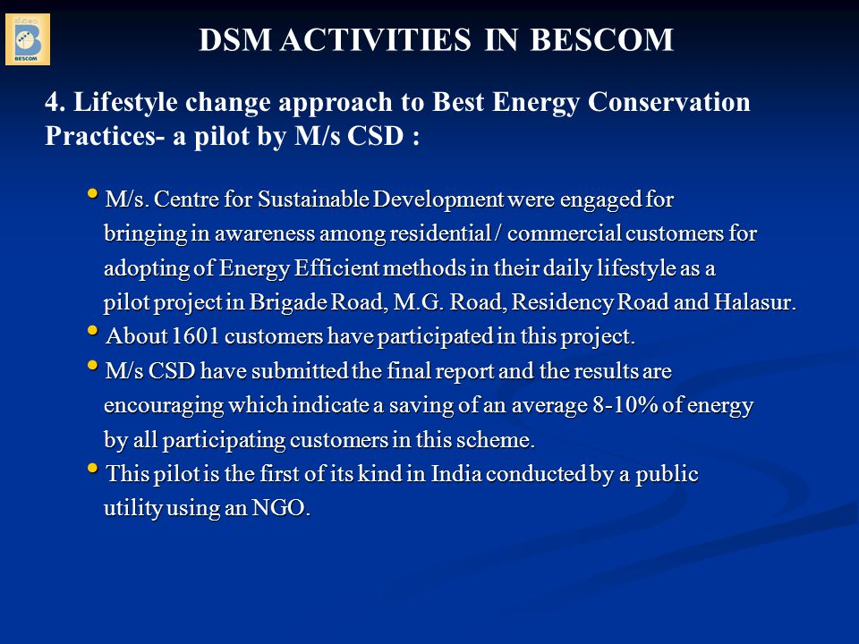 M/s.Centre for Sustainable Development were engaged for M/s.