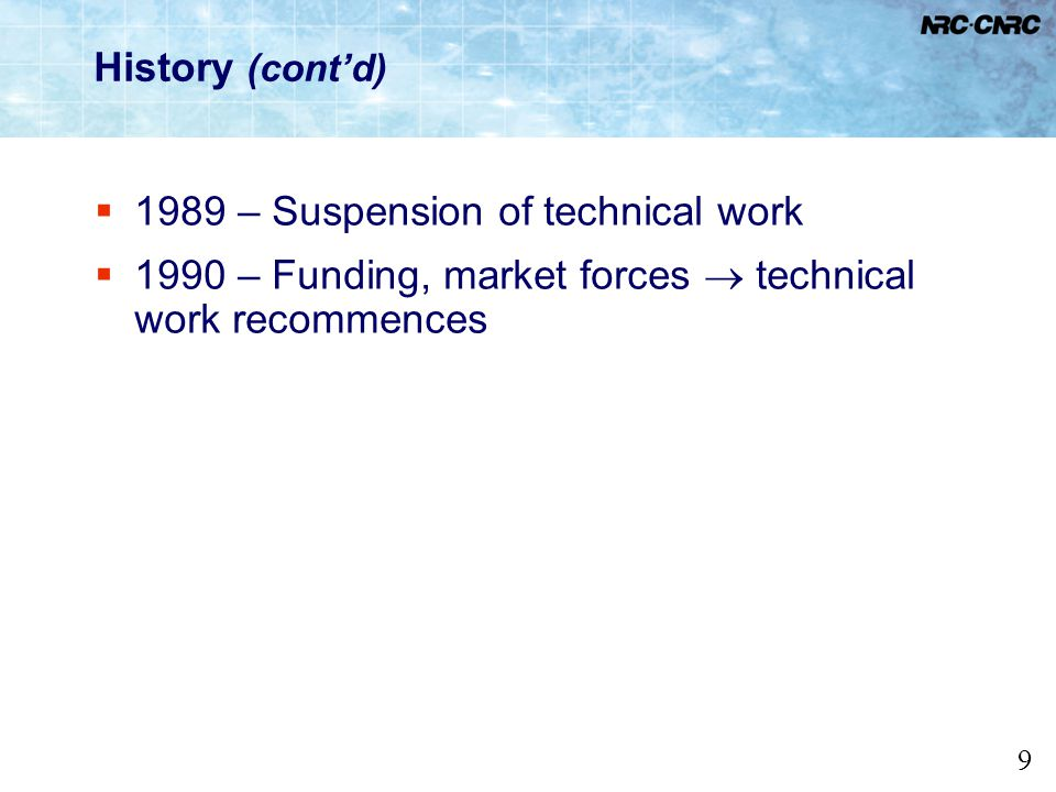 10 History (contd) Model National Energy Code for Buildings 1997 Prescriptive approach: building envelope, HVAC, service water heating, lighting, electrical power Engineering approach: performance Performance Compliance for Buildings reference and proposed building modeling Model National Energy Code for Houses (MNECH) published in 1997