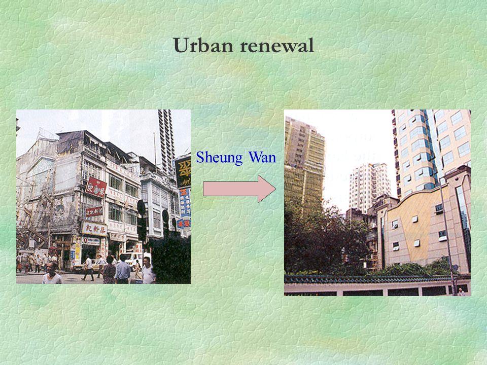 Sheung Wan Urban renewal