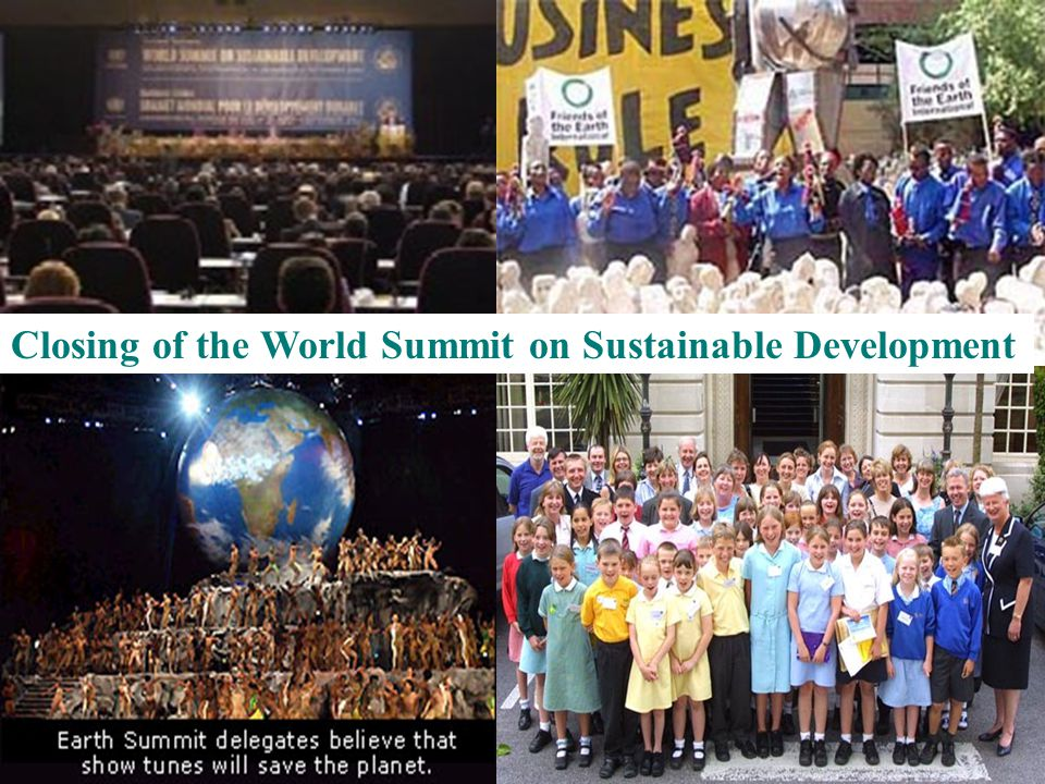 If you were a representative of China, what would you like to state at the Earth Summit ?