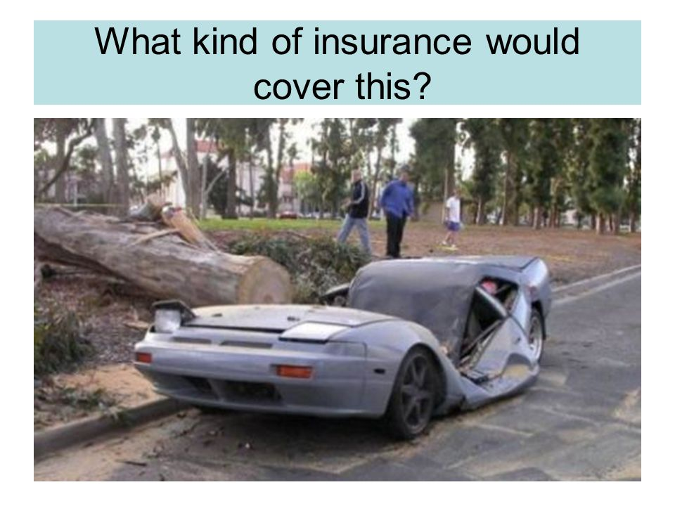What kind of insurance would cover these situations.