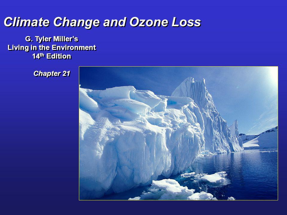 Climate Change and Ozone Loss G. Tyler Millers Living in the Environment 14 th Edition Chapter 21 G. Tyler Millers Living in the Environment 14 th Edi