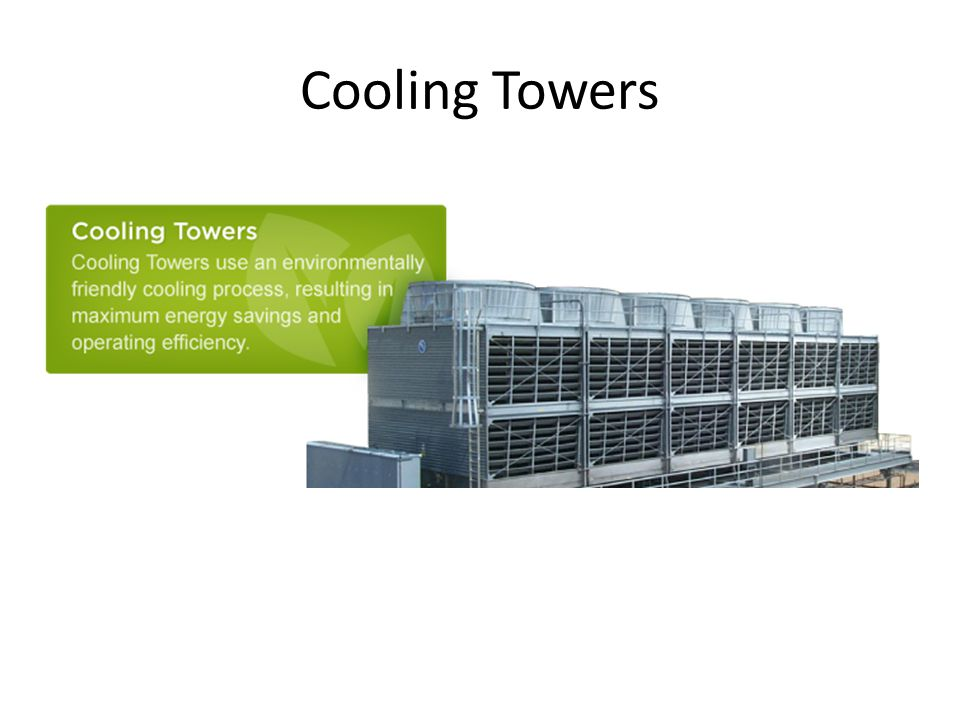 Cooling Tower Types