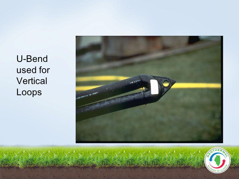 U-Bend used for Vertical Loops