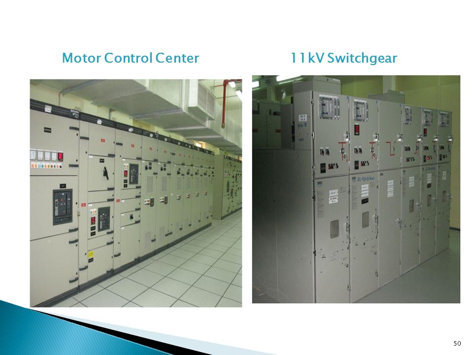 Motor Control Center11kV Switchgear 50