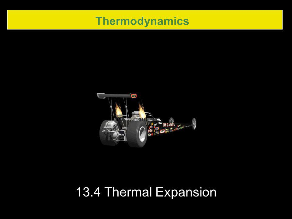 Thermodynamics 13.4 Thermal Expansion