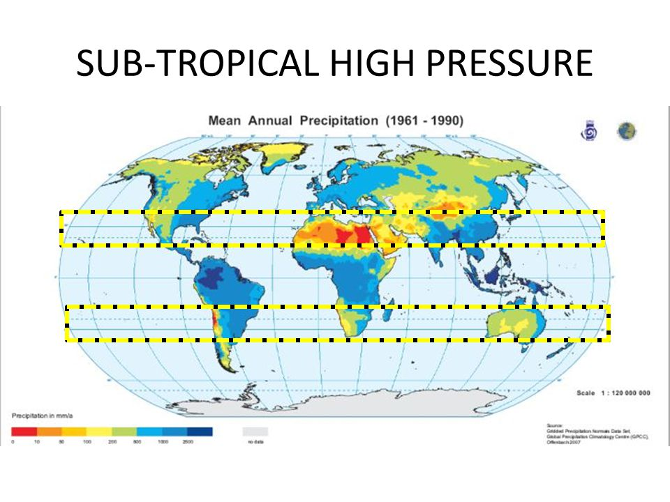 SUB-TROPICAL HIGH PRESSURE