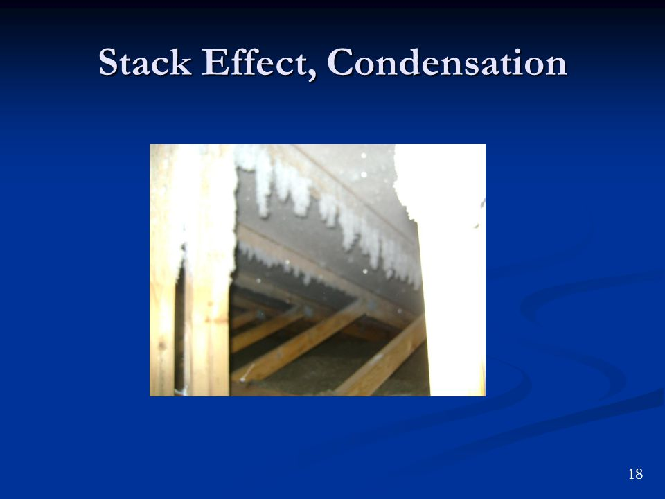 18 Stack Effect, Condensation