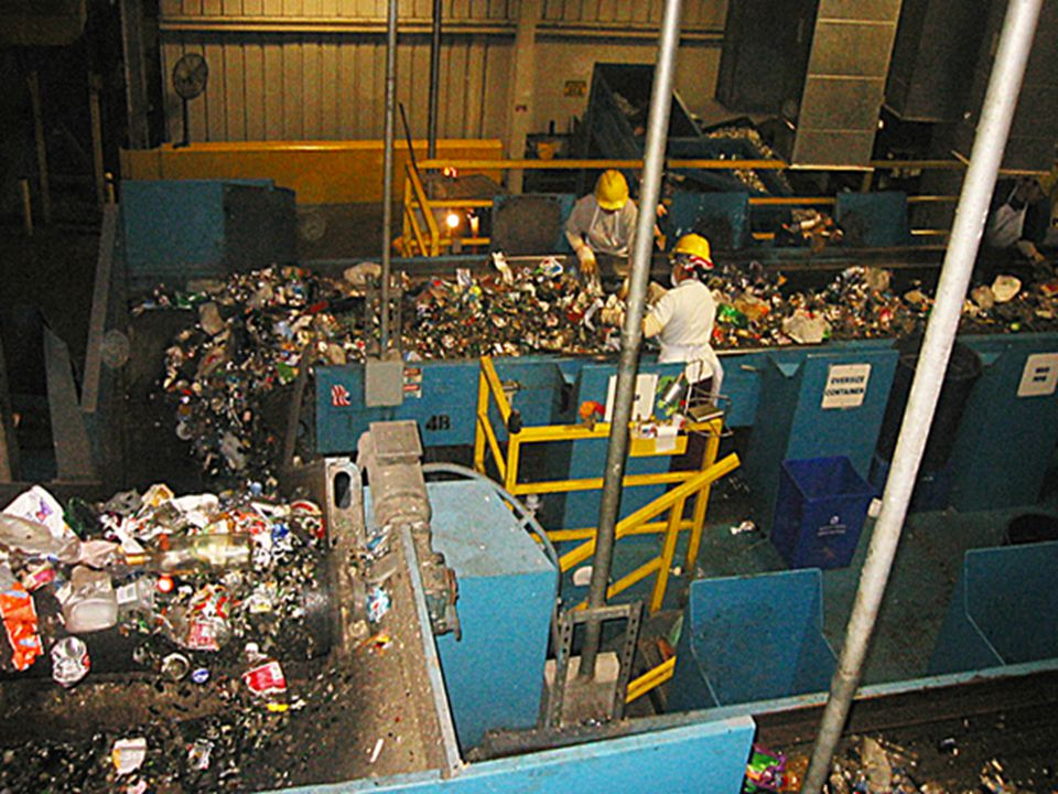 Section 2: Producing Less Waste What are our options.