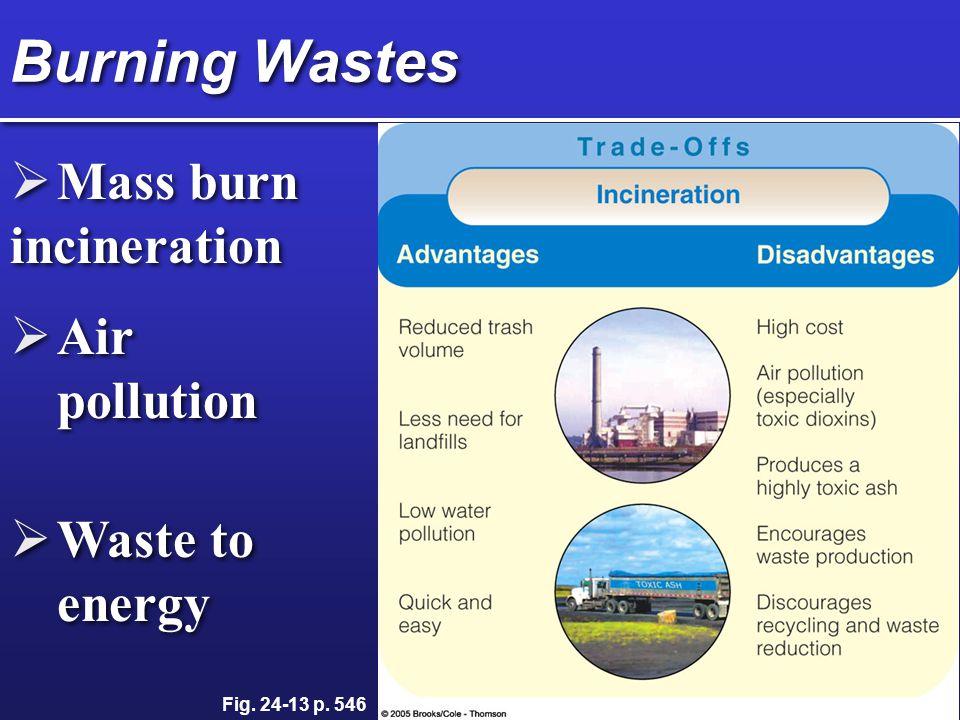 Burning Waste Japan and Switzerland over 50%, U.S.