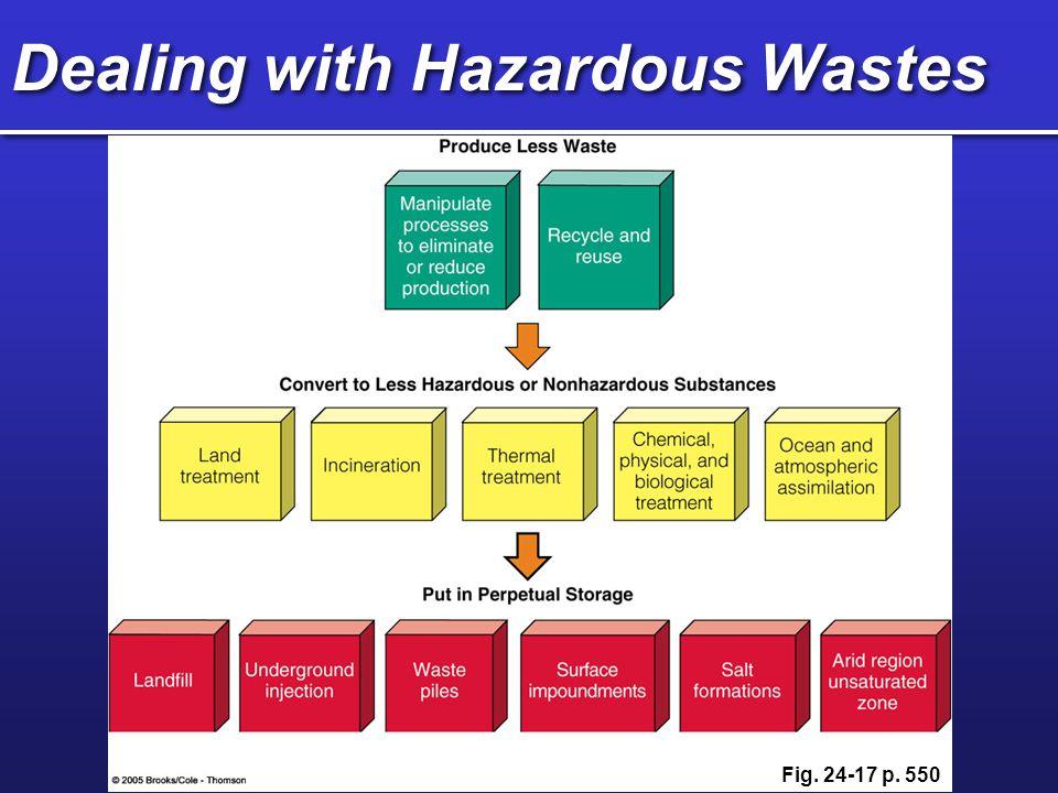 Detoxifying and Removing Wastes Bioremediation Phytoremediation Plasma incineration Physical methods Chemical methods