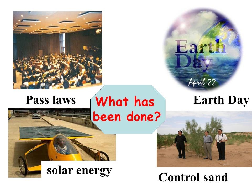 solar energy Pass lawsEarth Day Control sand What has been done?