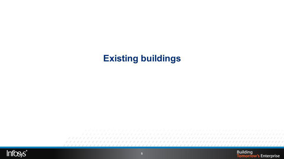 Existing buildings 5