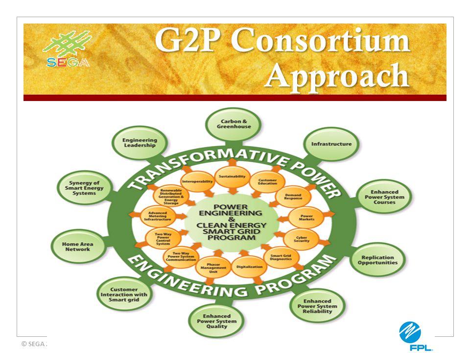 G2P Consortium Approach © SEGA 2012