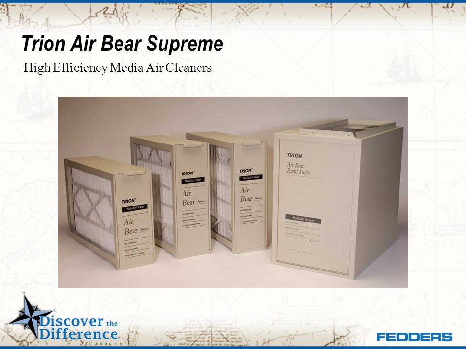 Trion Air Bear Supreme High Efficiency Media Air Cleaners