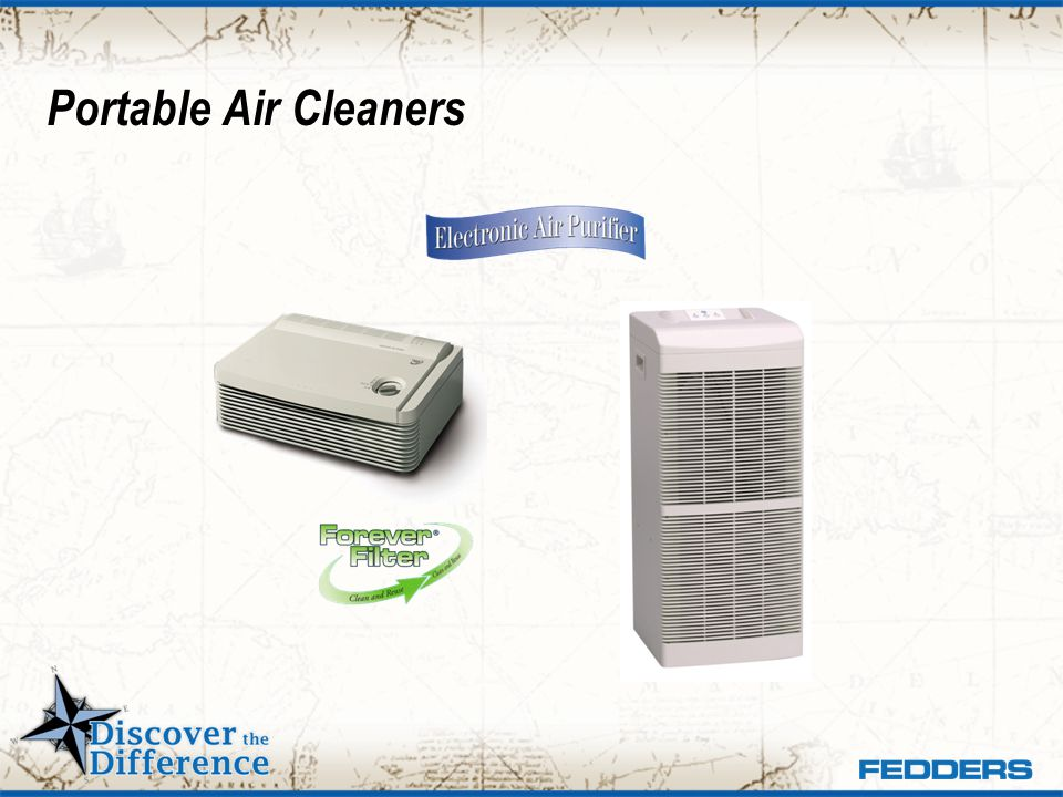 Portable Air Cleaners