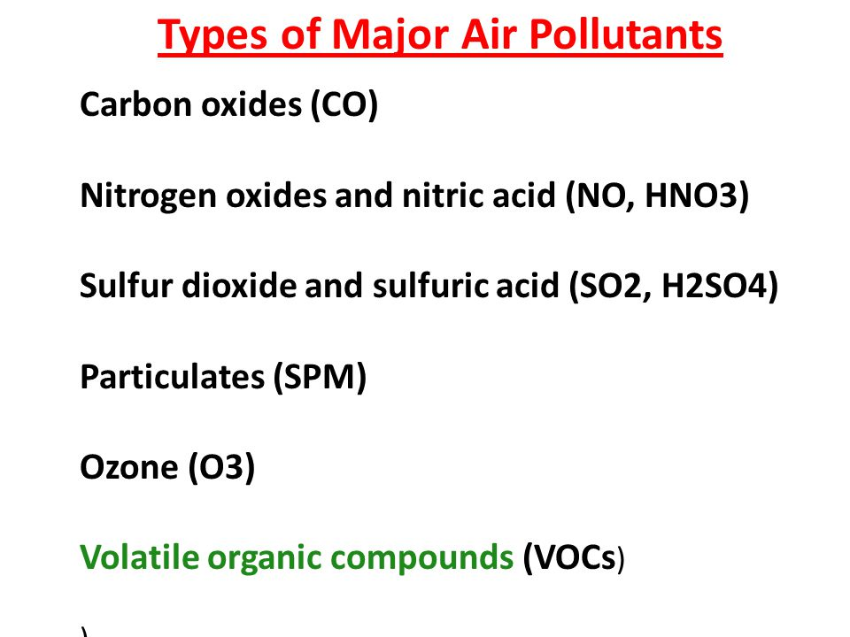Pollutants Pollutants can be classified as either primary or secondary - Primary pollutants are substances directly emitted from a process, such as the carbon monoxide gas from a motor vehicle exhaust or sulfur dioxide released from factories.