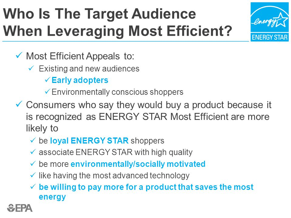 Who Is The Target Audience When Leveraging Most Efficient.