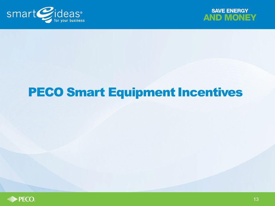 PECO Smart Equipment Incentives 13