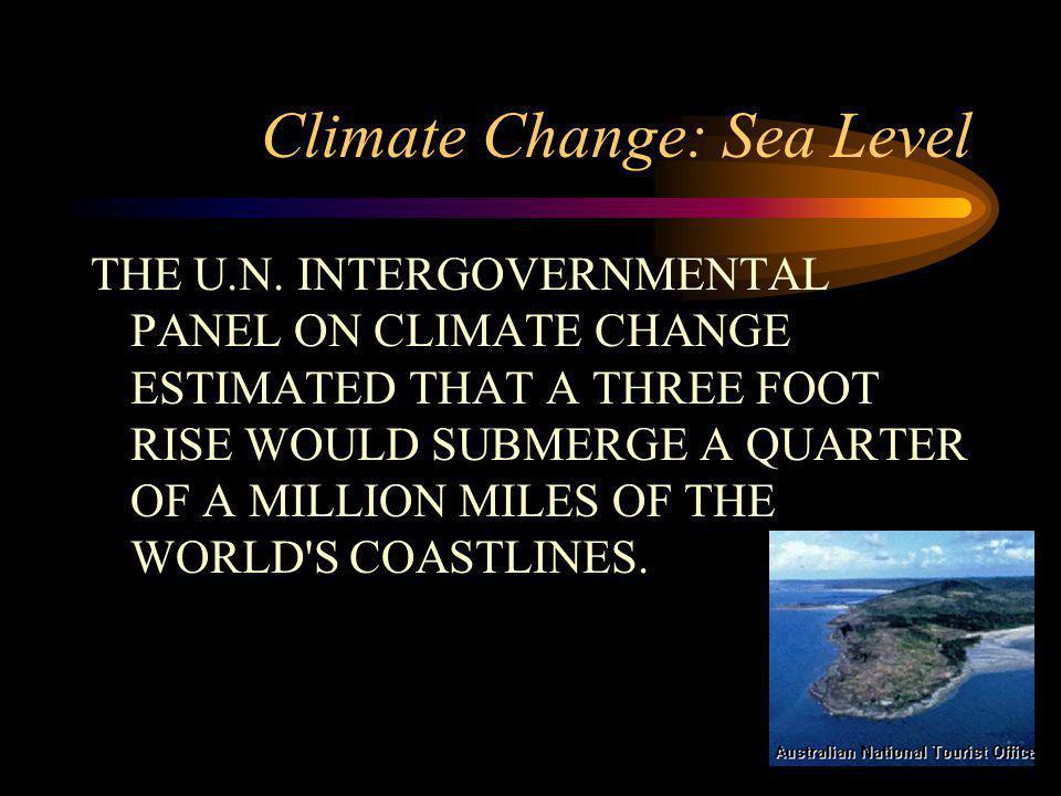 Climate Change: Sea Level THE U.N.