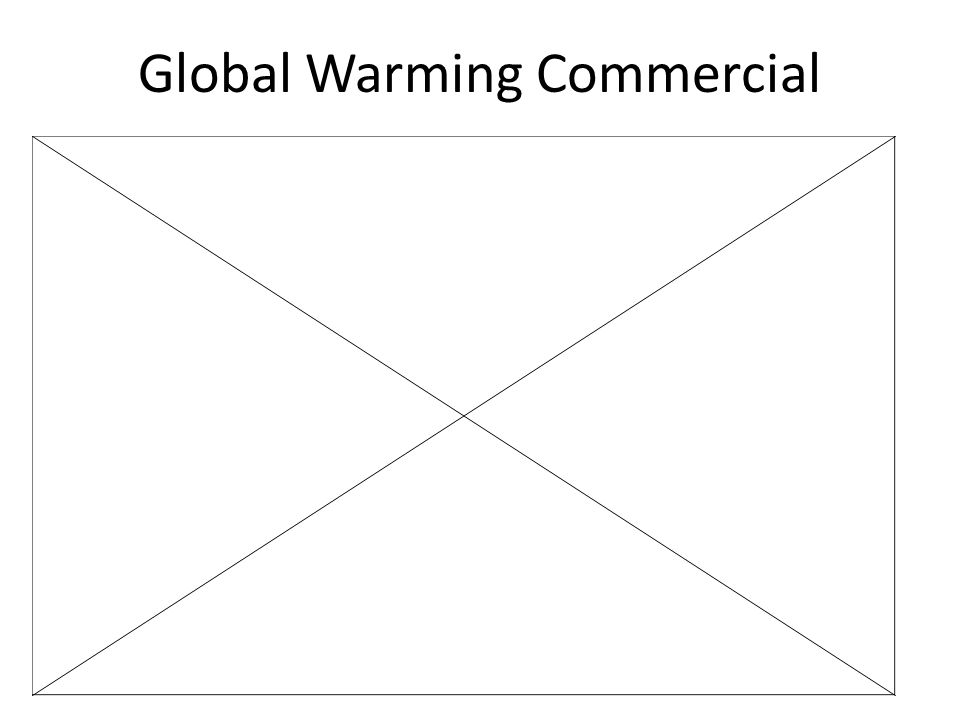 Global Warming Commercial