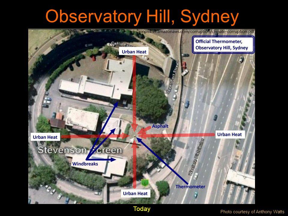 Observatory Hill, Sydney Today Photo courtesy of Anthony Watts