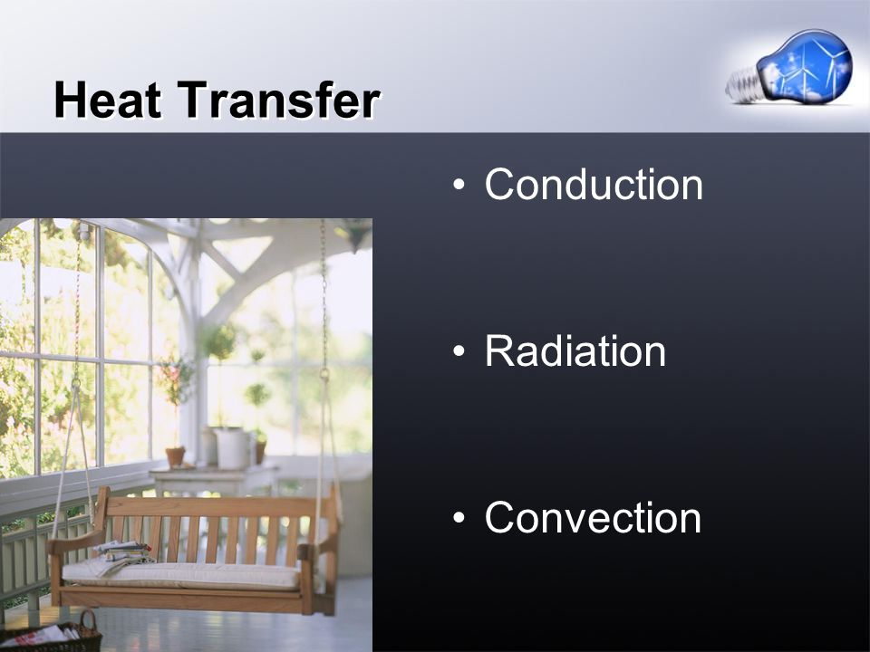 Heat Transfer Conduction Radiation Convection