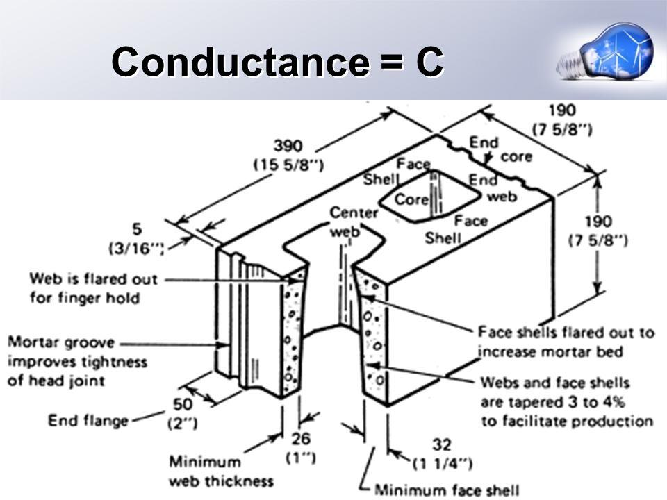 Conductance = C