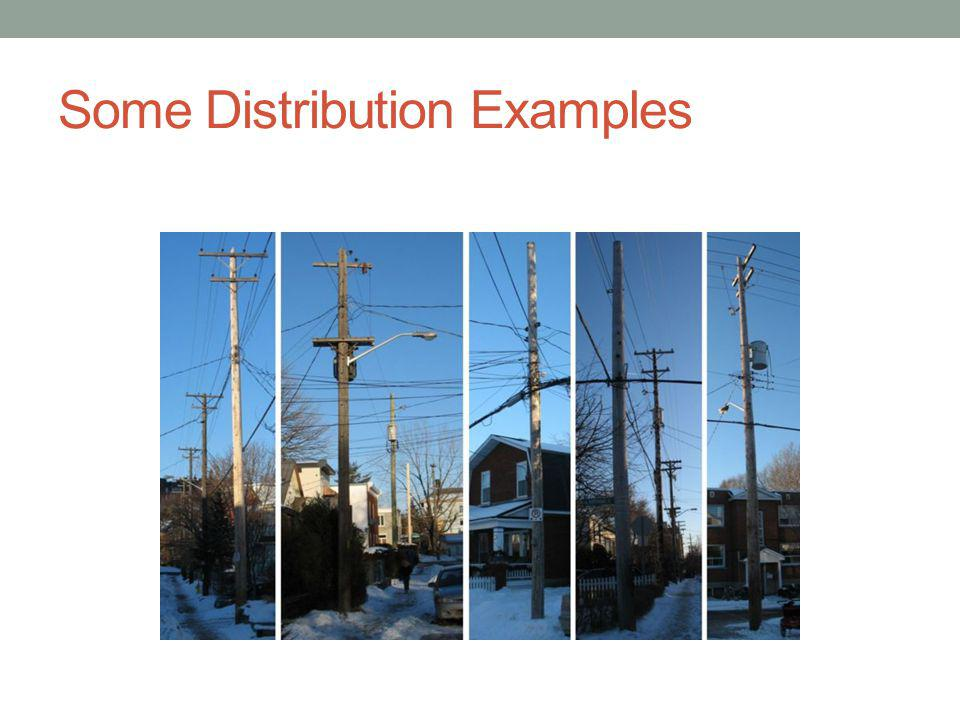 Some Distribution Examples